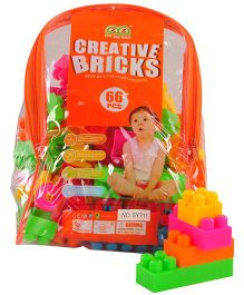 Magic Pitara Creative Blocks Multicolor - 66 Pieces