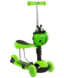 Magic Pitara  3 In 1 Scooter - Green