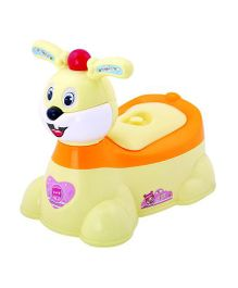 Magic Pitara Rabbit Faced Baby Potty Seat - Yellow