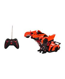 Magic Pitara Deformation Robot With Remote - Orange