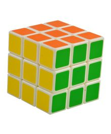 Magic Pitara Puzzle Magic Cube - Multicolor