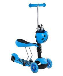Magic Pitara  3 In 1 Scooter - Blue