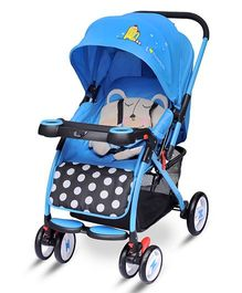 R for Rabbit Cuppy Cake The Cute Pram - Blue