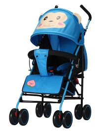 R for Rabbit Twinkle Twinkle The Compact Folding Stroller Blue Black - STTTB01