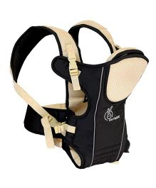 R for Rabbit Chubby Cheeks 3 Way Baby Carrier - Black and Cream