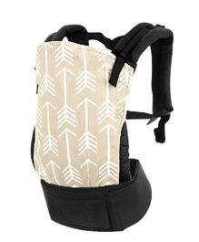R for Rabbit Hug Me 3 Way Baby Carrier Arrow Print - Cream