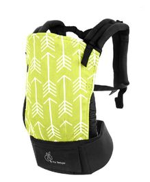 R for Rabbit Hug Me 3 Way Baby Carrier Arrow Print - Green