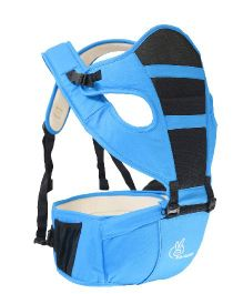 R for Rabbit Upsy Daisy 3 Way Baby Carrier With Hip Seat - Blue