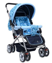 R for Rabbit Lollipop The Colorful Pram STLPBC1 - Blue