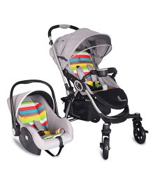 R for Rabbit Chocolate Ride Travel System - Multicolor