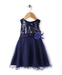 The KidShop Sequined Party Dress - Blue
