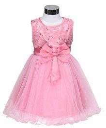 The KidShop Circles Sequins Dress - Pink