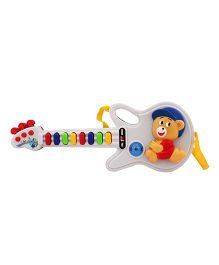 Toycry Guitar 8 Music N Light With Single Sound (Colors may vary)