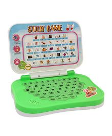 Toycry 5 Mode Learning Laptop  - Green White