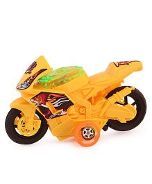 Toycry Sports Bike Friction String Toy (Colors may Vary)