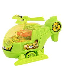 Toycry Helicopter Friction String Toy (Colors May Vary)