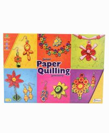 Petals Junior Paper Quilling Jewellery Set - Multicolor