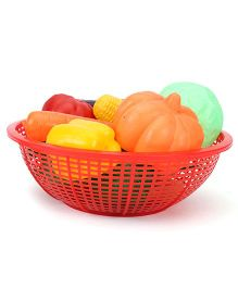 Ratnas Fresh Vegetable Basket Red - 15 Pieces