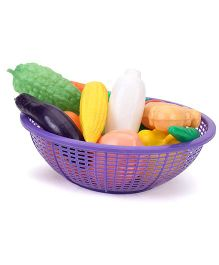 Ratnas Fresh Vegetable Basket Purple - 15 Pieces
