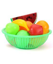 Ratnas Fresh Fruit Basket Green - 12 Pieces