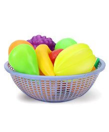 Ratnas Fresh Fruit Basket Blue - 12 Pieces