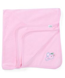 Babyhug Towel Bunny Embroidery (Color May Vary)