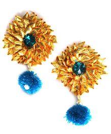 Little Pocket Store Handmade Gota Drop Earing - Gold