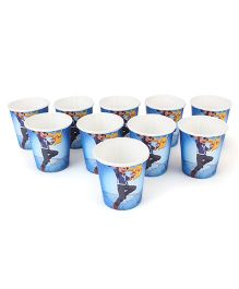 Pokemon Paper Cup Blue - Pack Of 10