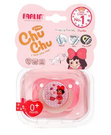 Farlin Chu Chu Pacifier Small - Pink