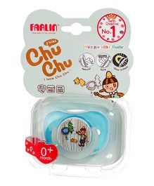 Farlin Chu Chu Pacifier Small - Blue
