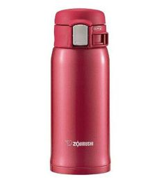Zojirushi Classy Vacuum Bottle - Clear Red