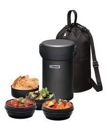 Zojirushi Vacuum Lunch Jar - Gun Metallic