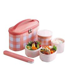 Zojirushi Vaccum Lunch Jar - Coral Pink