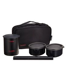 Zojirushi Lunch Box - Matte Black