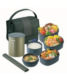 Zojirushi Lunch Box - Olive Green