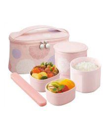 Zojirushi Lunch Box - Baby Pink