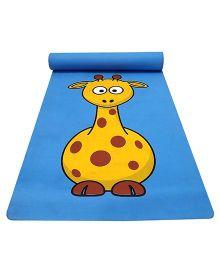 Gravolite Baby Giraffe Printed Kids Fun Mat - Blue