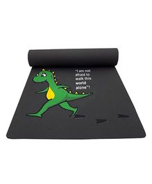 Gravolite Little DinosaurPrinted Kids Fun Mat - Grey