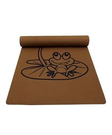 Gravolite Crazy Frog Printed Kids Fun Mat - Brown