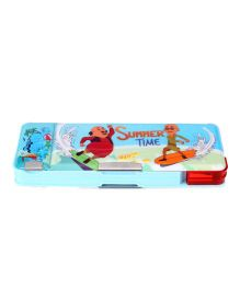 Motu Patlu Pencil Box - Blue