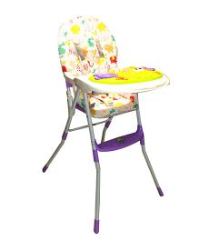 Kiwi 2 In 1 Convertible Musical High Chair - Purple