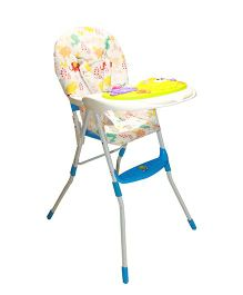 Kiwi 3 In 1 Convertible Musical High Chair - Blue