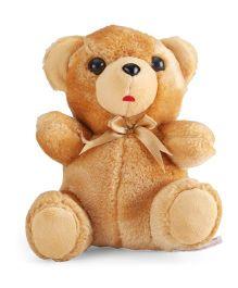 IR Fur Teddy Soft Toy Brown - 17 cm