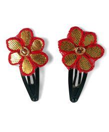 Tiny Closet Gota Flower Tic Tac - Red