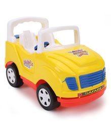 Luvely Safari Toy Car - Yellow