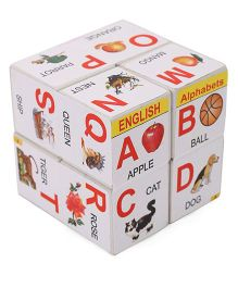 Luvely Magic Cube Alphabet Puzzle - Multicolor