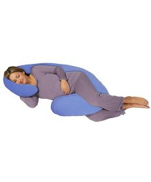 Comfeed Pillows By Nina C Pregnancy Pillow - Blue