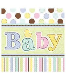 Planet Jashn Tiny Bundle Napkins - Pack of 36