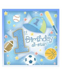 Planet Jashn 1st Birthday Tissue - Pack of 36