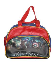 Planet Jashn Avengers Luggage Bag Red Blue - 16 Inches